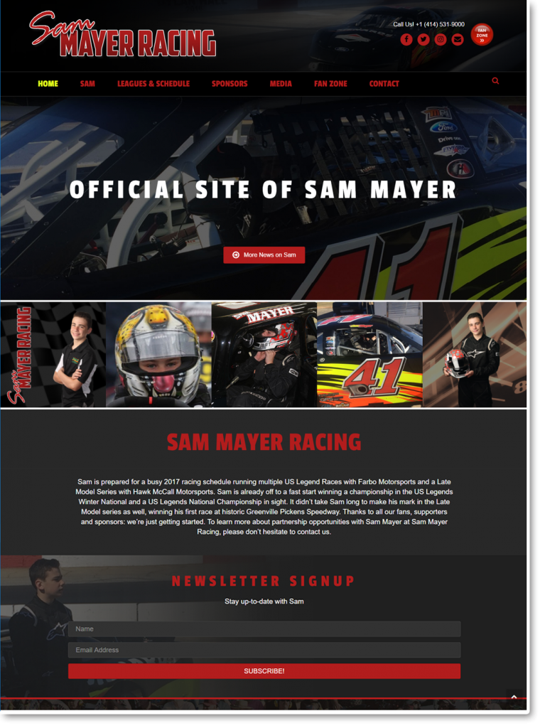 mayer-site-design
